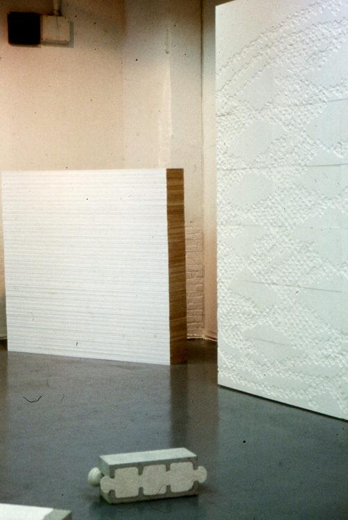 "Installation view from ""Wall Work"""