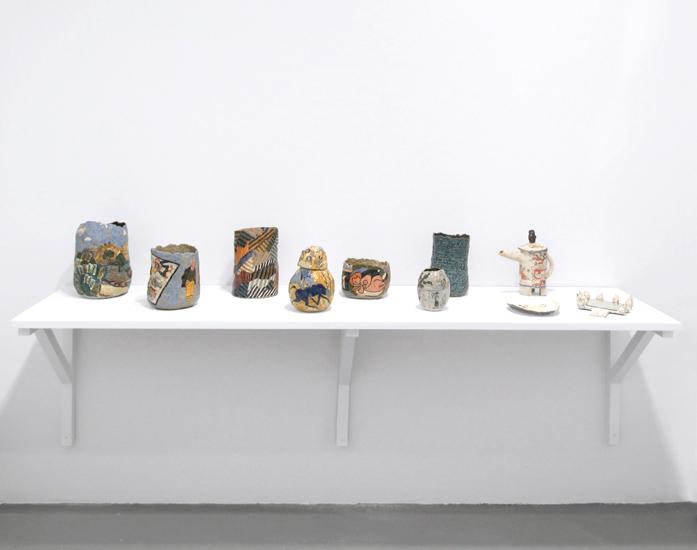 "Installation view of ""Project: Magdalena Suarez Frimkess"""