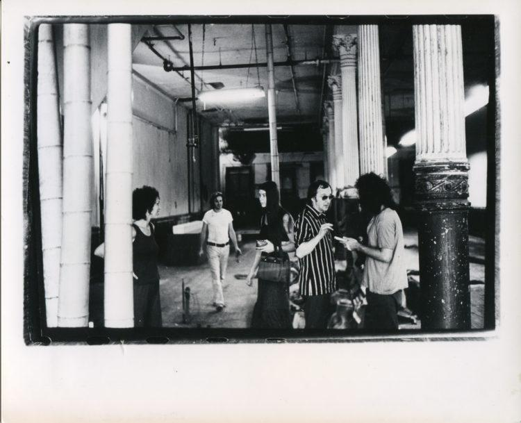 "Installation view of ""Inaugural Group Show,"" 1970"