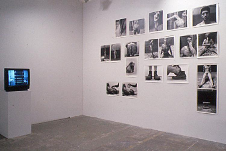 """Installation view from """"Killing Time"""""""