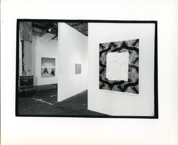 "Installation view from ""Update 1991"""