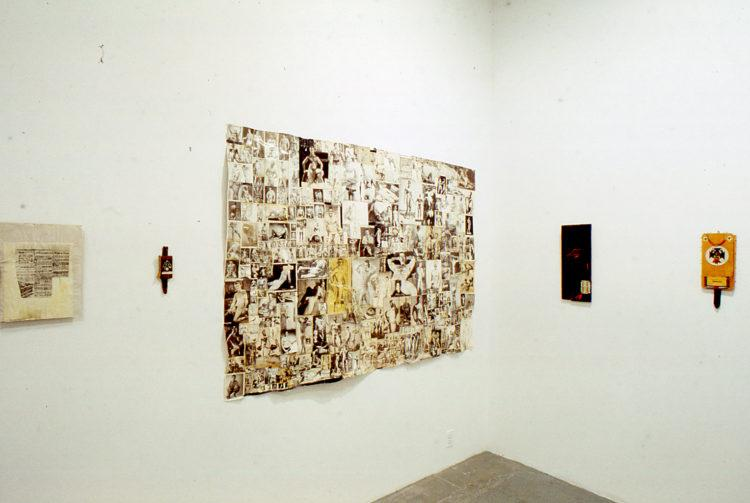"Installation view from ""White Room: Jack Pierson"""